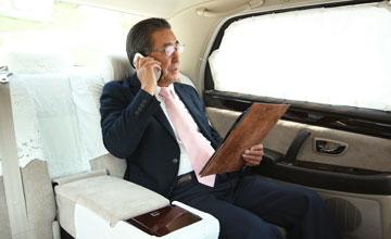 法人などのタクシーの乗車