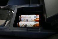 後席簡易冷蔵庫搭載