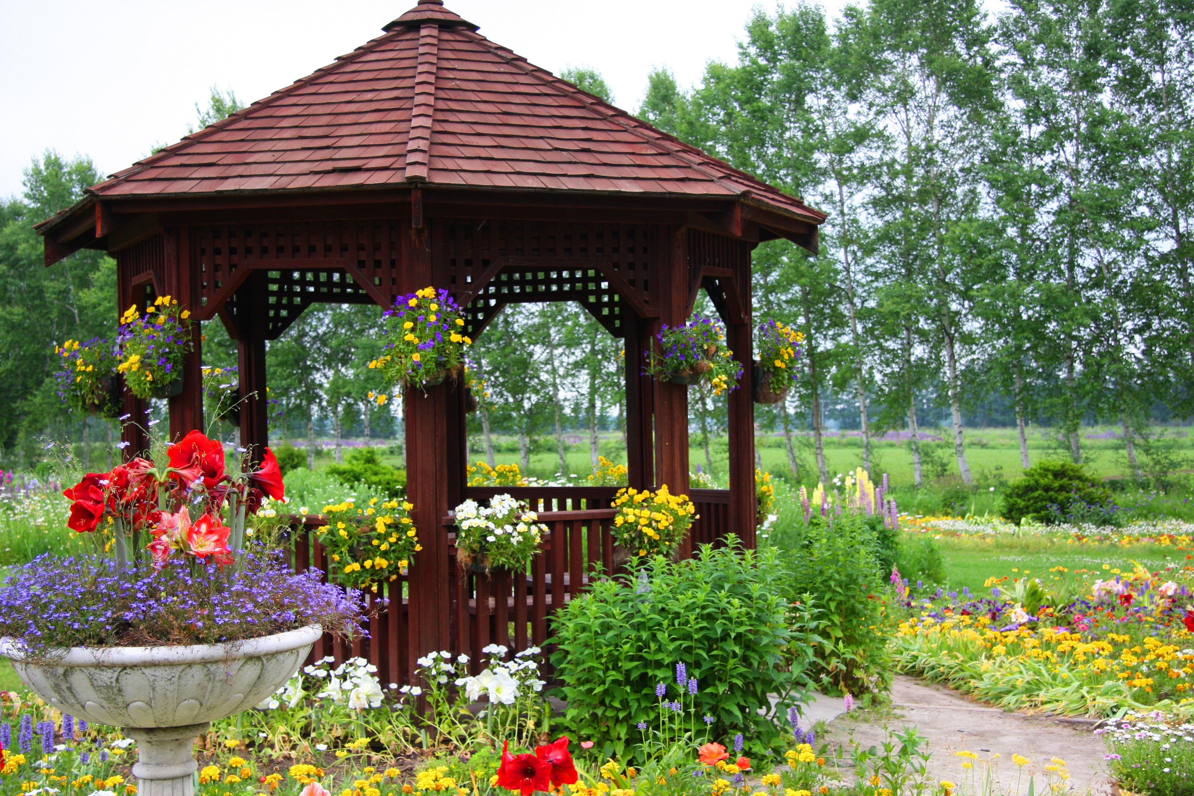 十勝の2大ガーデン巡りBコース【オススメ時期:6月〜9月】