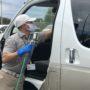 タクシー車輌全車に車内除菌コーティングを実施しています!